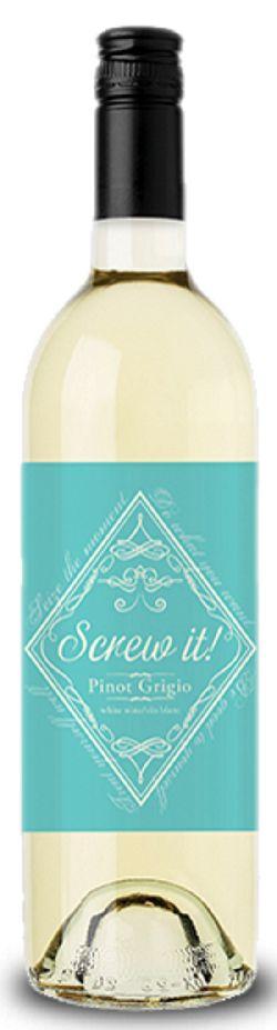 Screw It! Wines - Pinot Grigio - 750ml