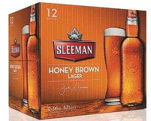 Sleeman Brewing - Honey Brown Ale - 12PB